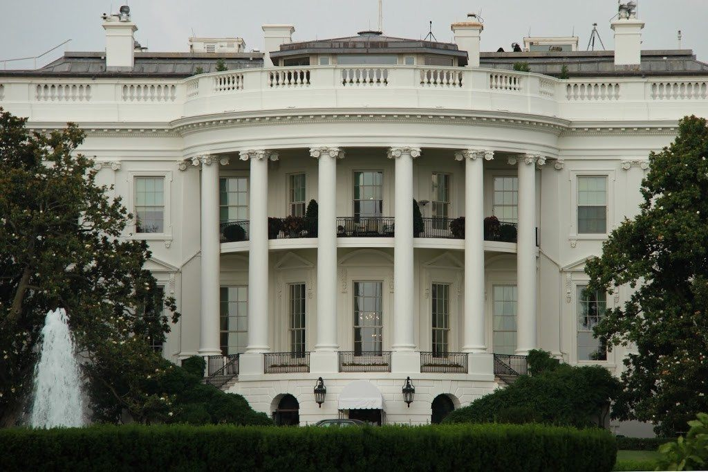 Rear View of the White House