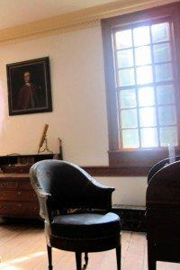 Presidential Chair in George's Study