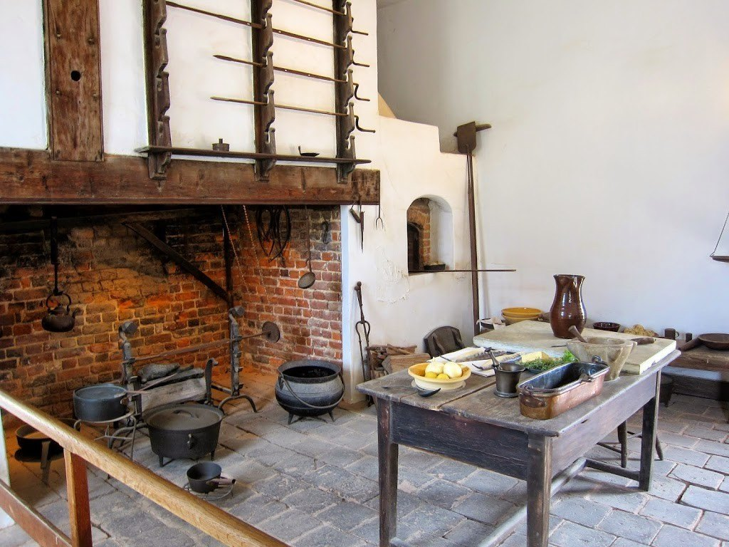 Kitchen in George Washington's Home