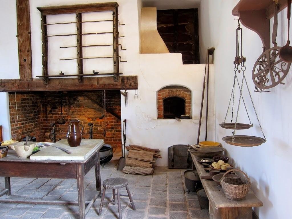 George Washington's kitchen at Mount Vernon