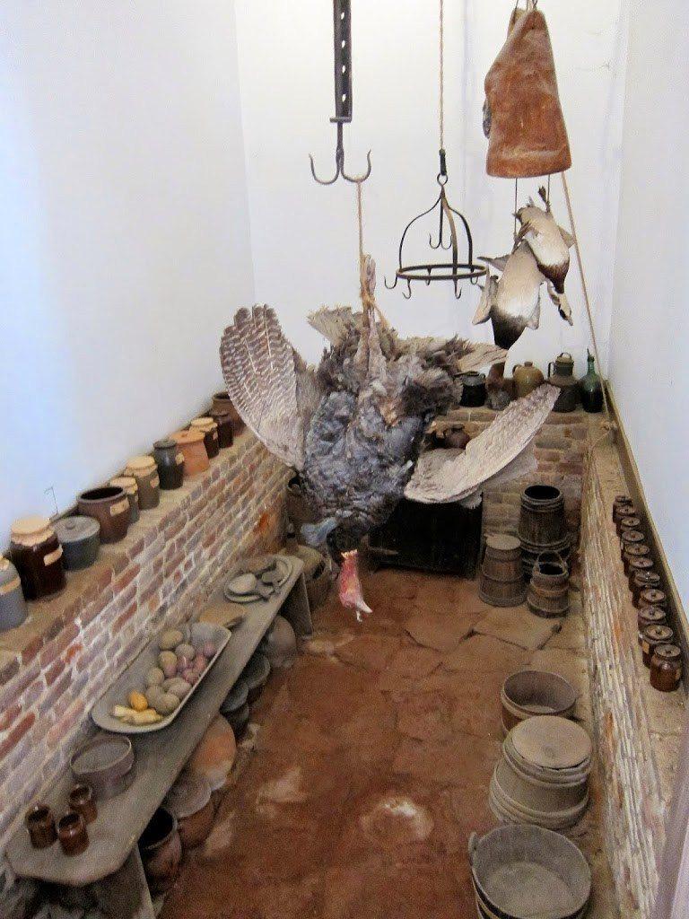 George Washington's storeroom at Mount Vernon