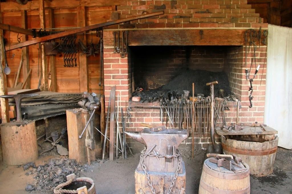 Blacksmith Shop at Mount Vernon