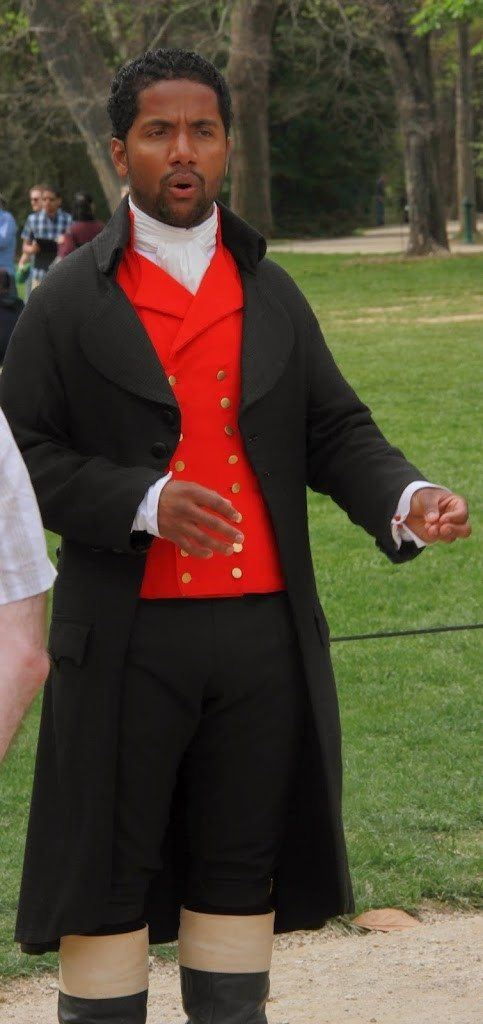 One of the family's enslaved black servants