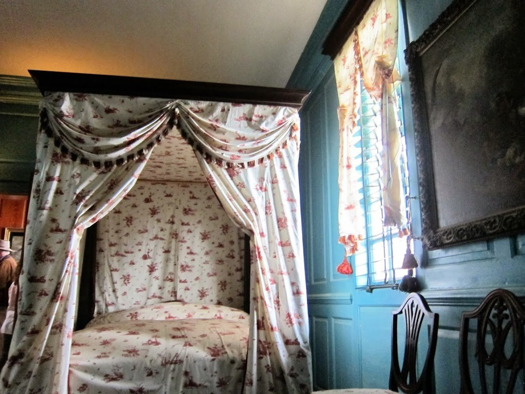 Downstairs Bedchamber at Mount Vernon