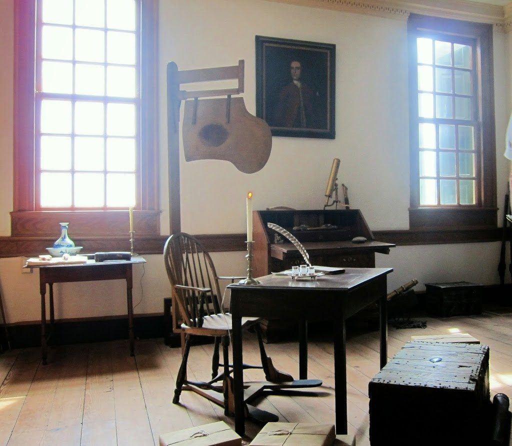 Study in George Washington's Home
