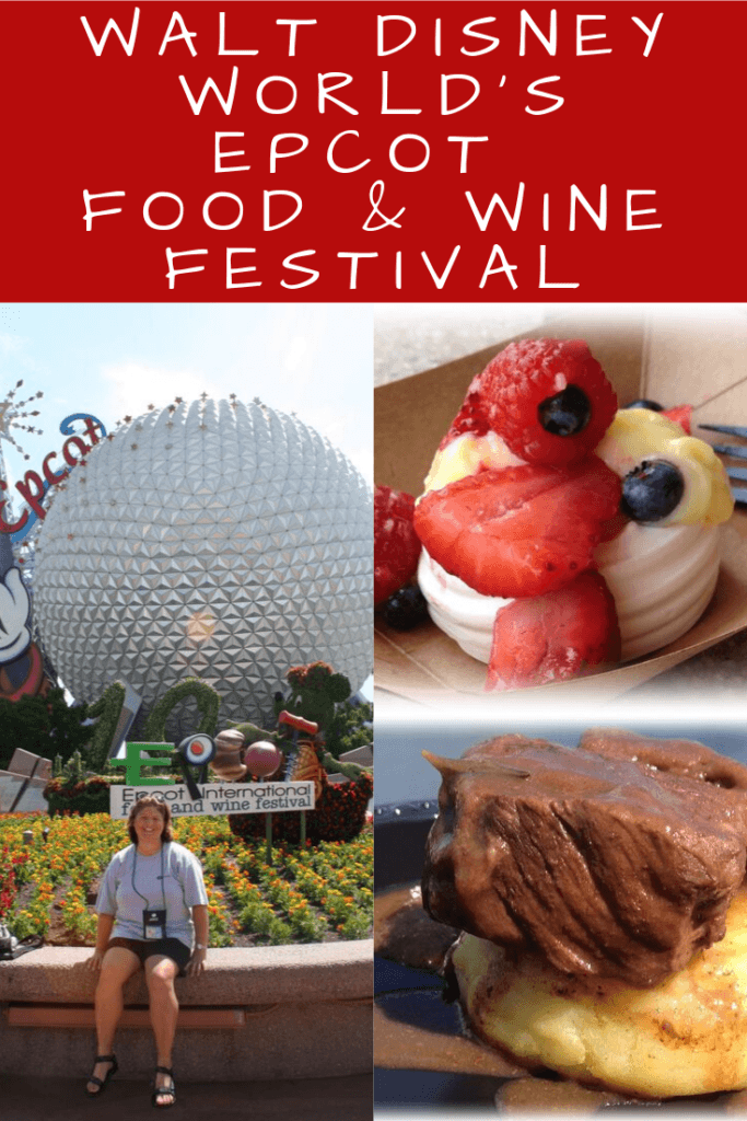 Food and Wine Festival Pinterest Pin