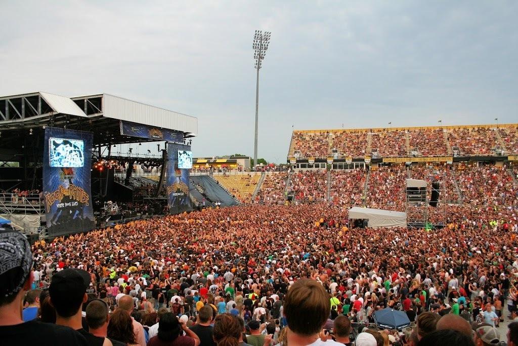 Rock on the Range concert at Mapfre Stadium Ohio