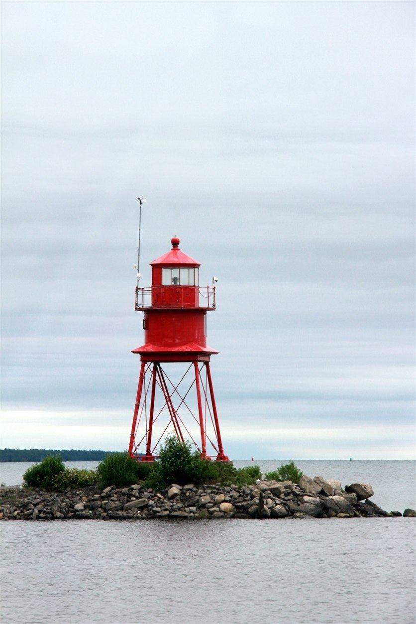 Little Red Lighthouse in Alpena