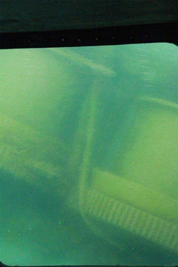 Underwater metal stacks in Thunder Bay