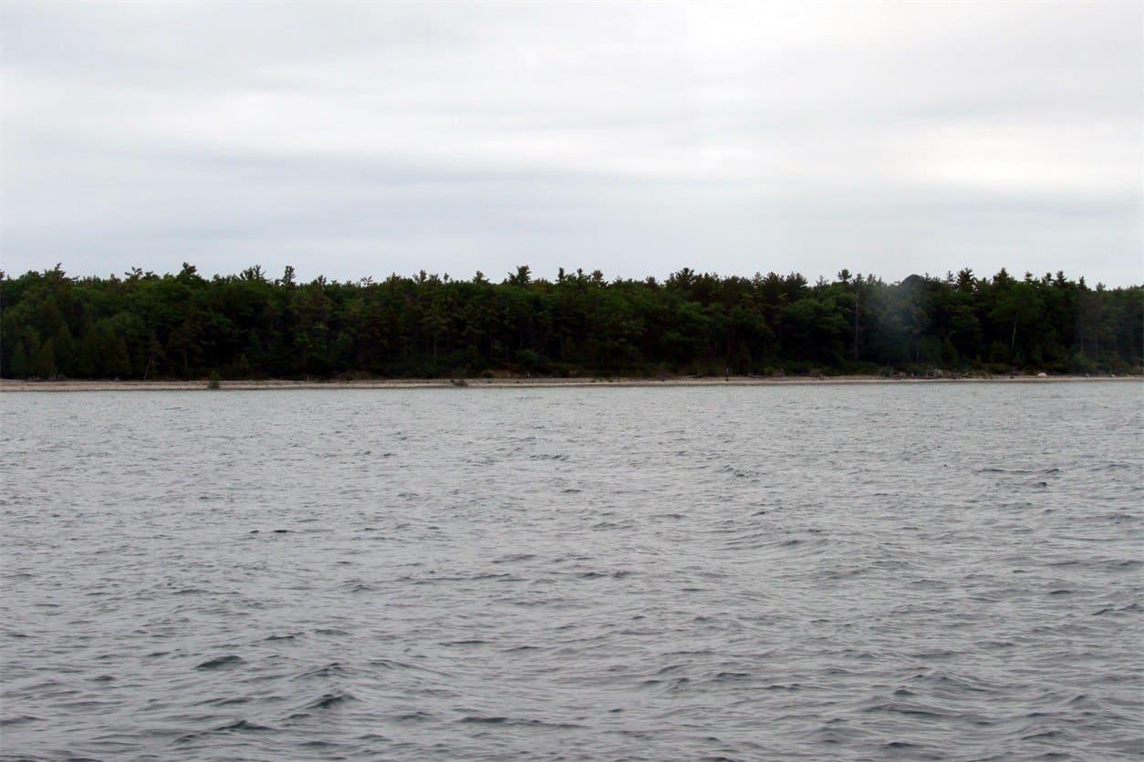 Alpena Coastline along Thunder Bay