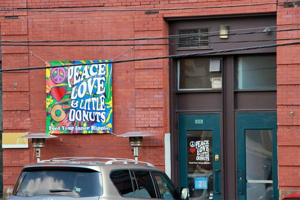 Peace Love & Little Donuts