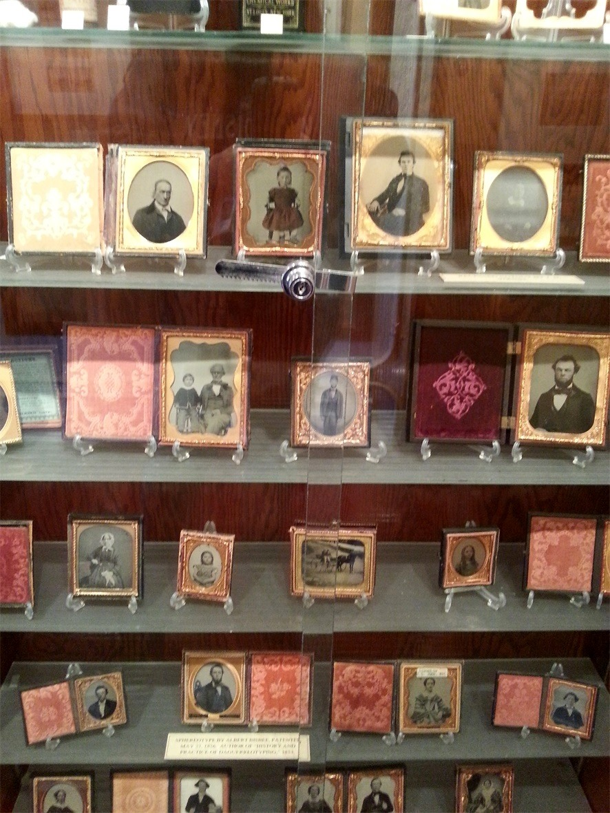 Different type of photos at the Photo Antiquities Museum