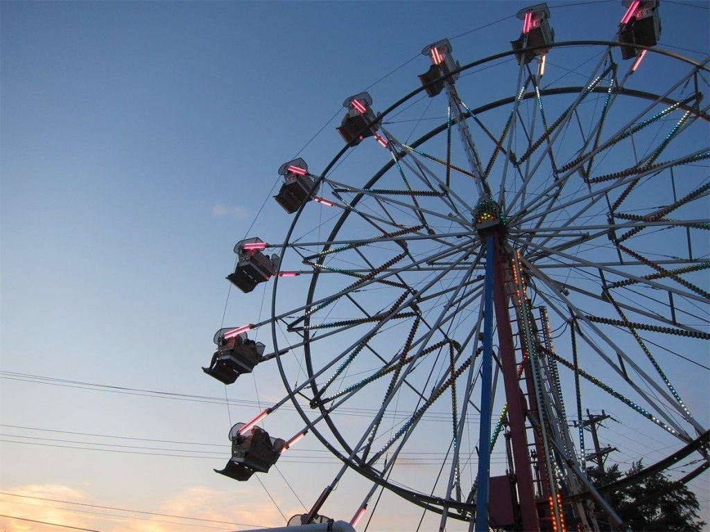 Ferris wheel at Algonac Pickerel Tournament