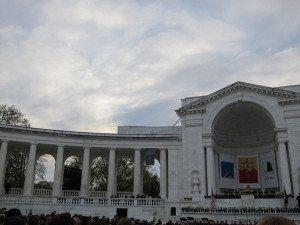 Arlington National Cemetery Memorial Amphitheater Easter Sunrise Service