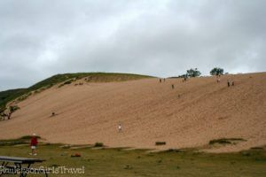 Left view of the Dune Climb