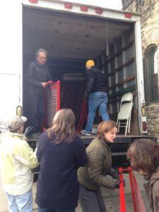 Taking the beds out of the Truck