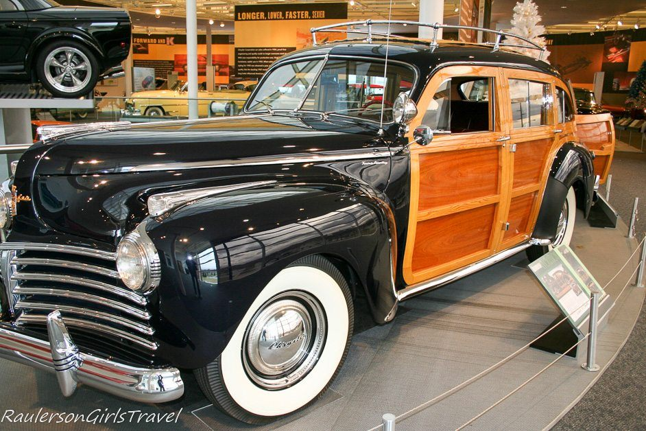 Chrysler Town & Country Wood Paneled Station Wagon