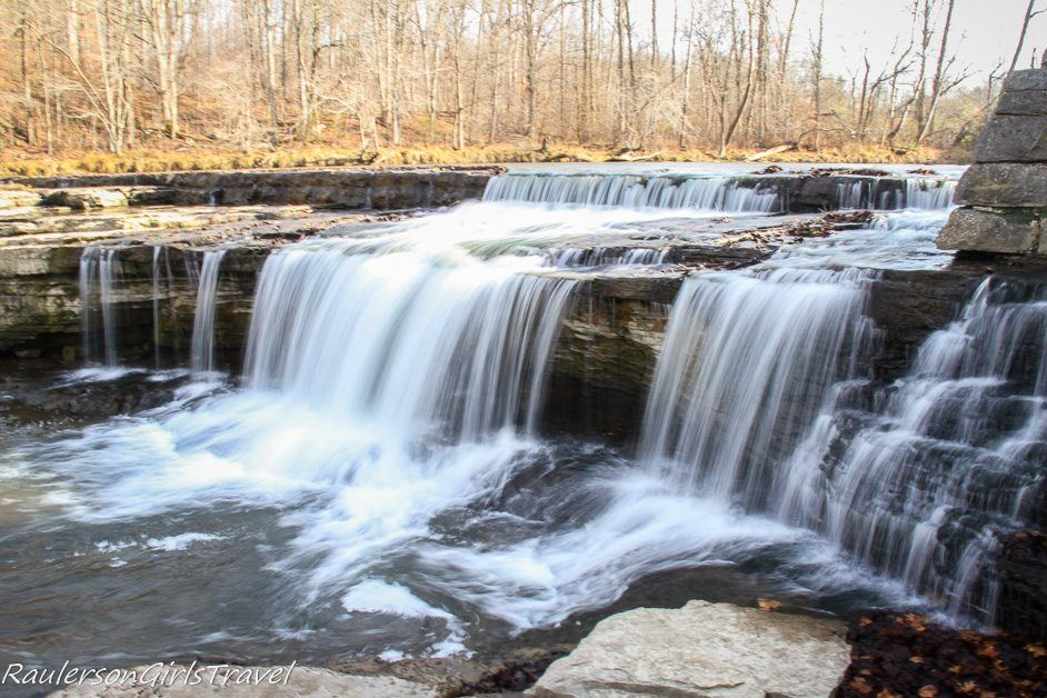Upper Cataract Falls in Indiana