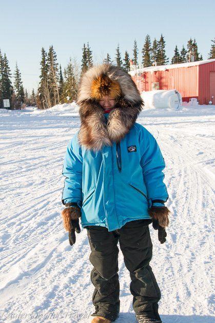 Ai Adams Japanese tour guide to Beaver Village Alaska