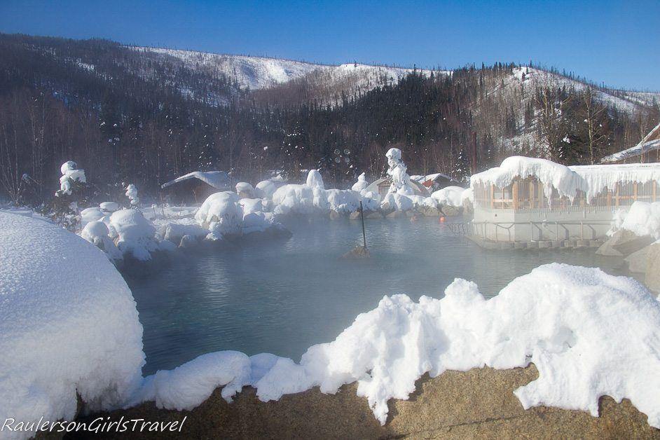 Hot Springs Lake - Chena Hot Springs Resort