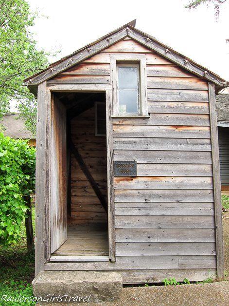 "1819 bathroom ""Necessary House"" in Constitution Village"