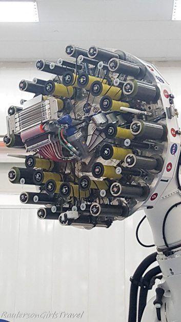 6-axis, $4.5 million robot creating carbon fiber