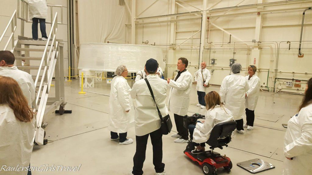 tour stop to see actual MSA that will go in the SLS rocket