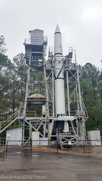Redstone first test stand