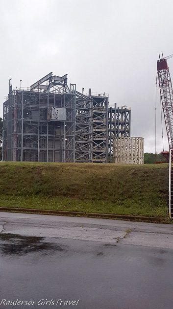 65-foot tall Space launch System Structural Load Test Stand