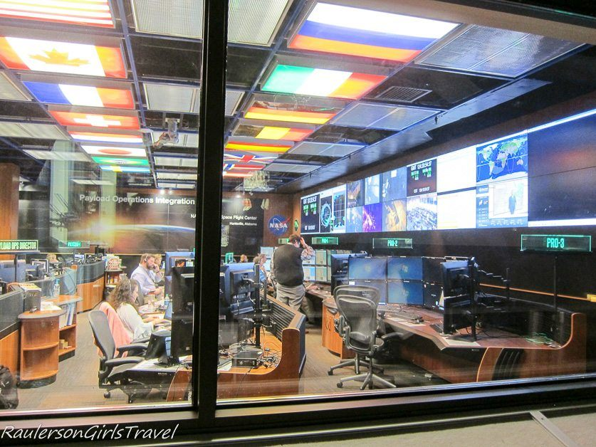 Payload Operations Center at Marshal Space Flight Center