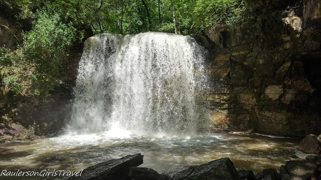 Hayden Falls in Dublin Ohio