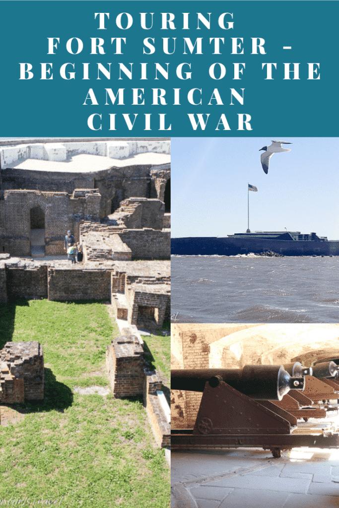 Fort Sumter Pinterest Pin