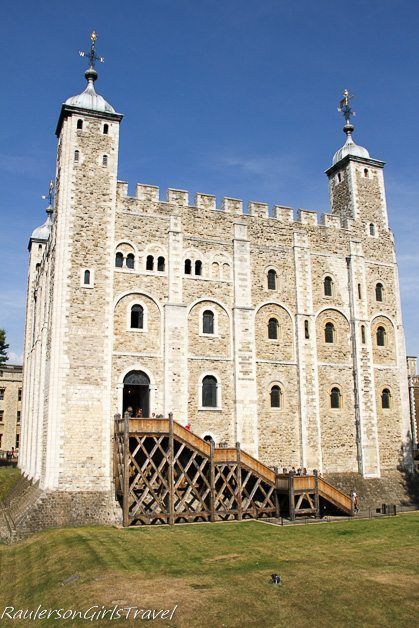 White Tower at the Tower of London