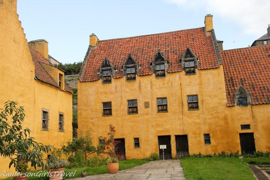 Culross Palace in Scotland