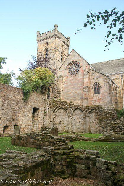 Culross Abbey in Scotland