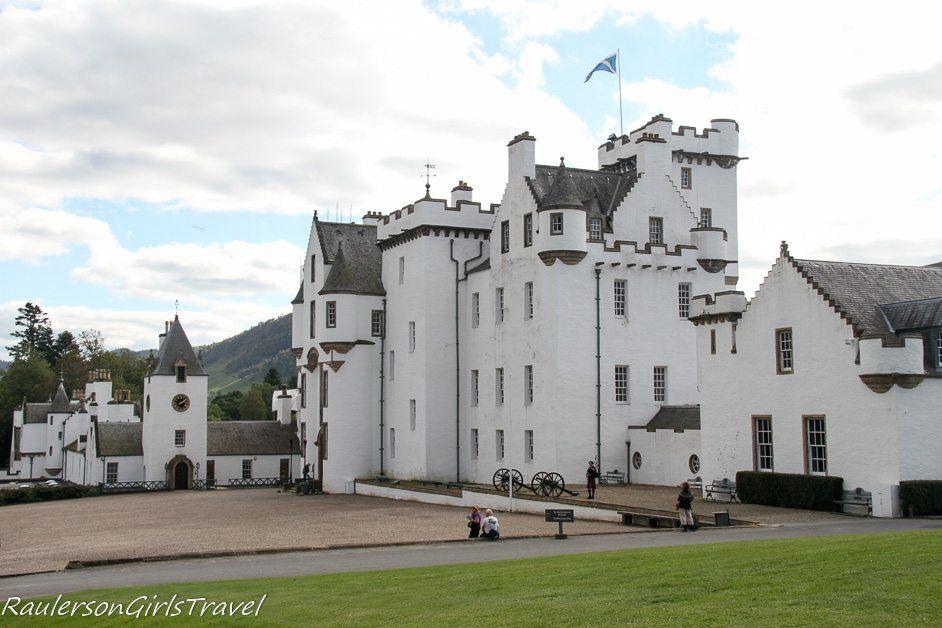 Blair Castle in Scotland