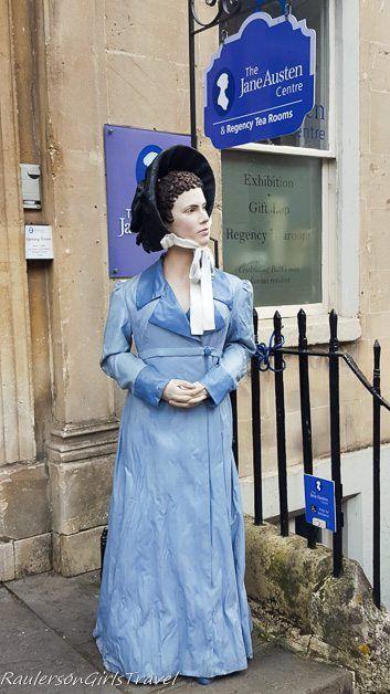 Jane Austen Centre in Bath, England