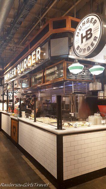 Hunger Burger at Reading Terminal Market