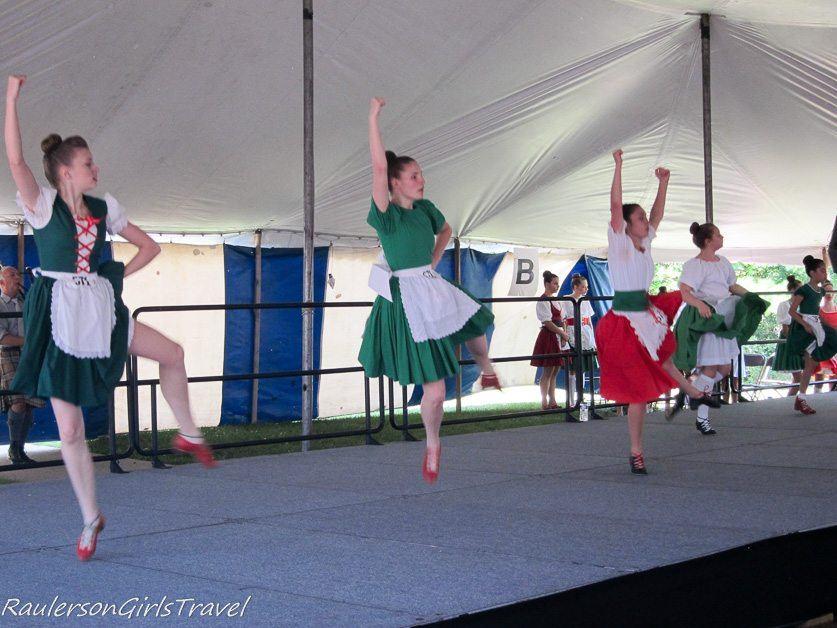 Highland Dancing at the Highland Games