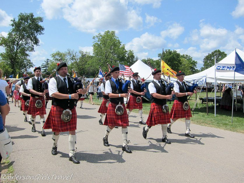 Highland Pipes and Drums