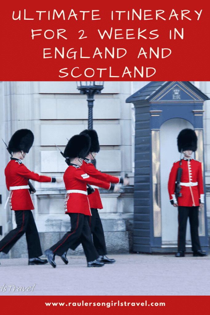2 Weeks in England and Scotland Pinterest Pin