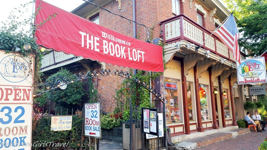 The Book Loft in German Village, Columbus, Ohio - Bookstores Around the World