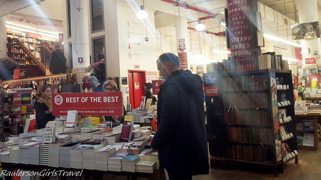 Inside Strand Bookstore - Bookstores Around the World