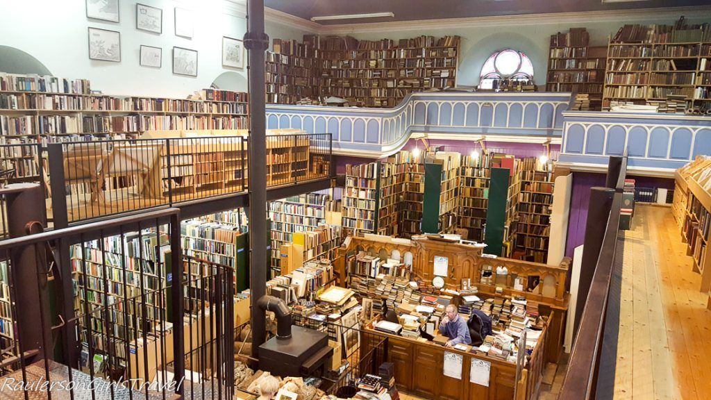 Leakey's Bookshop in Inverness, Scotland - Bookstores Around the World