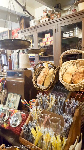 Candy & Bread at Old Mission General Store in Traverse City