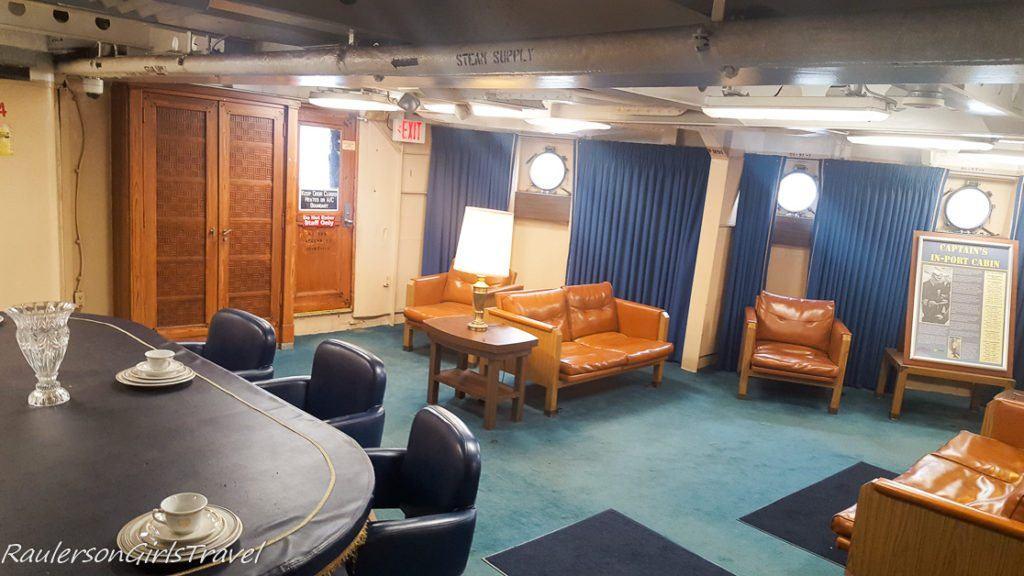 In-Port Cabin in USS New Jersey