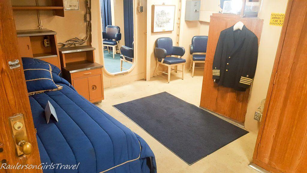 Cabin in USS New Jersey