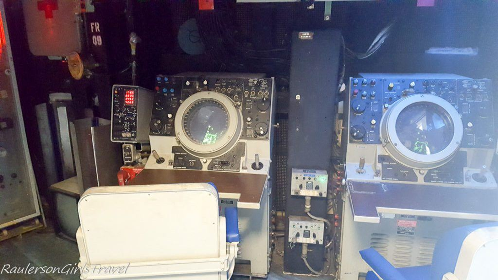Navigation computers in USS New Jersey