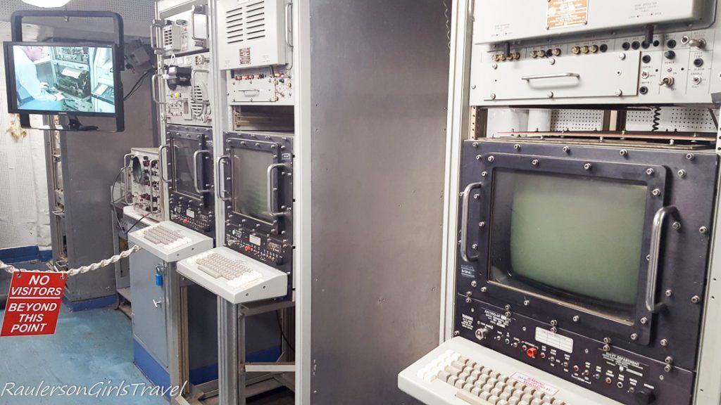 Radio Room in USS New Jersey