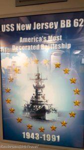 USS New Jersey - Most Decorated Battleship